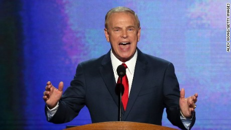 Former Ohio Gov. Ted Strickland speaks during day one of the Democratic National Convention on September 4, 2012, in Charlotte, North Carolina.
