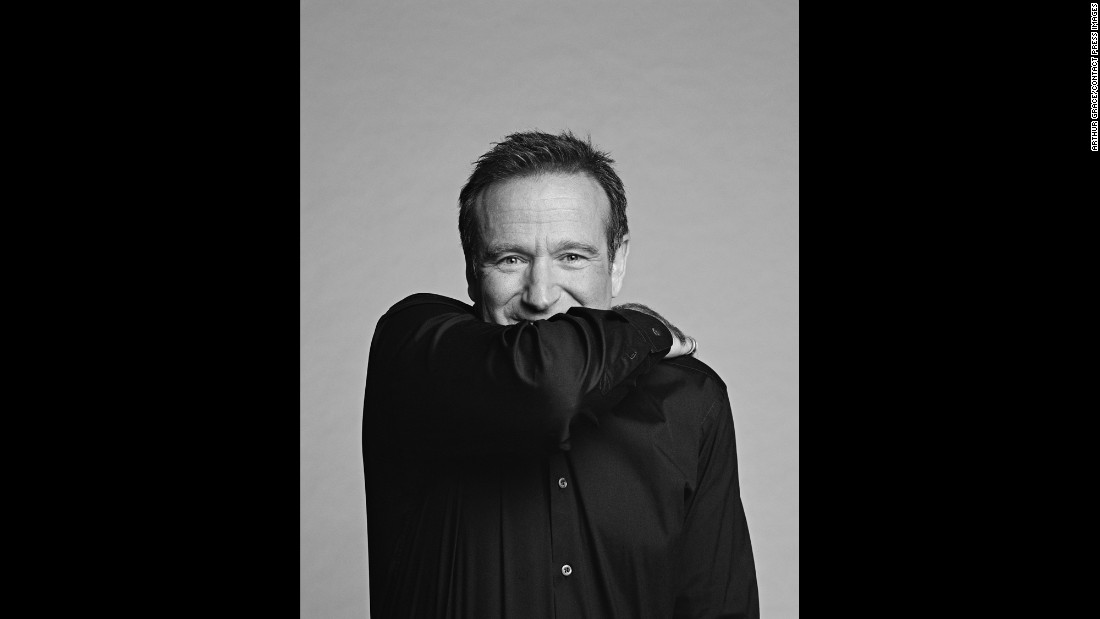 "Williams' widow, Susan, has said her late husband had suffered from the progressive disease <a href=""http://www.cnn.com/2015/11/03/health/robin-williams-widow-susan-williams/index.html"" target=""_blank"">Lewy body dementia</a> leading up to his suicide, weeks after he turned 63. Grace said he didn't know Williams' health was declining."