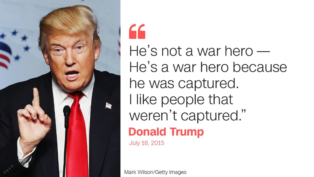trump quote two mccain
