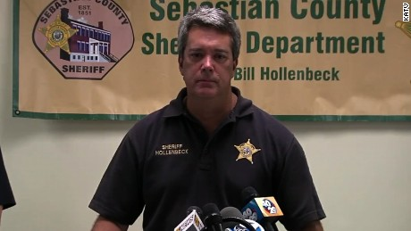 Bill Hollenbeck speaks after death of Arkansas deputy