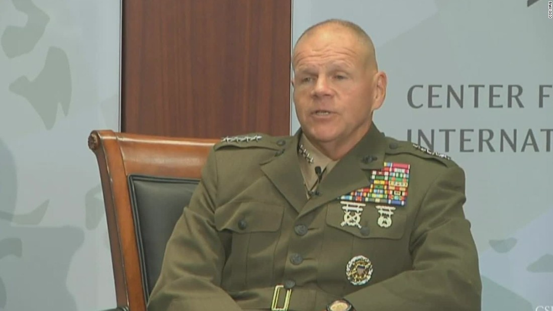 General: Marines, put down those cell phones!