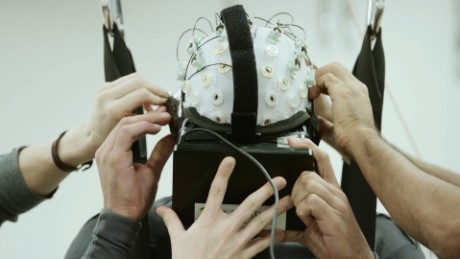 Brain training helps paraplegics move legs again