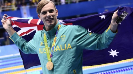 Aussies go wild for Kyle Chalmers
