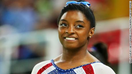 Simone Biles wins all-around gymnastics gold in Rio