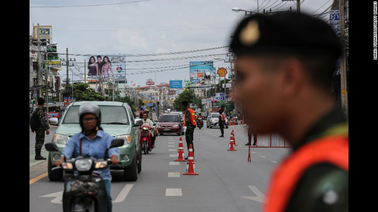 At least 4 killed in 11 Thailand bombings