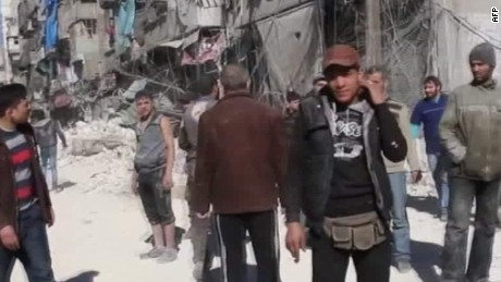 "Red Cross: Syria is ""urban warfare at its worst"""