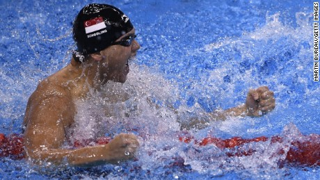 Joseph Schooling: Singapore's swimming hope