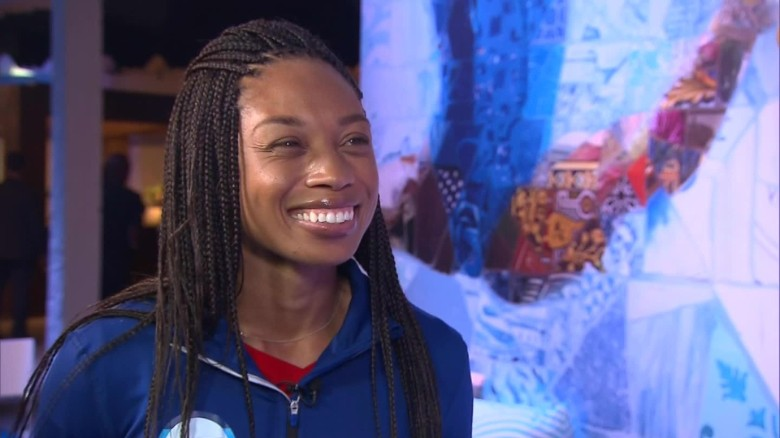 Allyson Felix talks about life and going gold in Rio