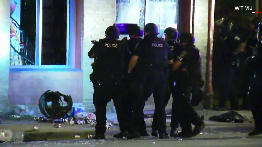 Wisconsin sheriff blames 'tribal behavior' for Milwaukee violence