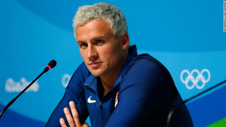 Americans say 'Sorry about Lochte' before leaving Rio