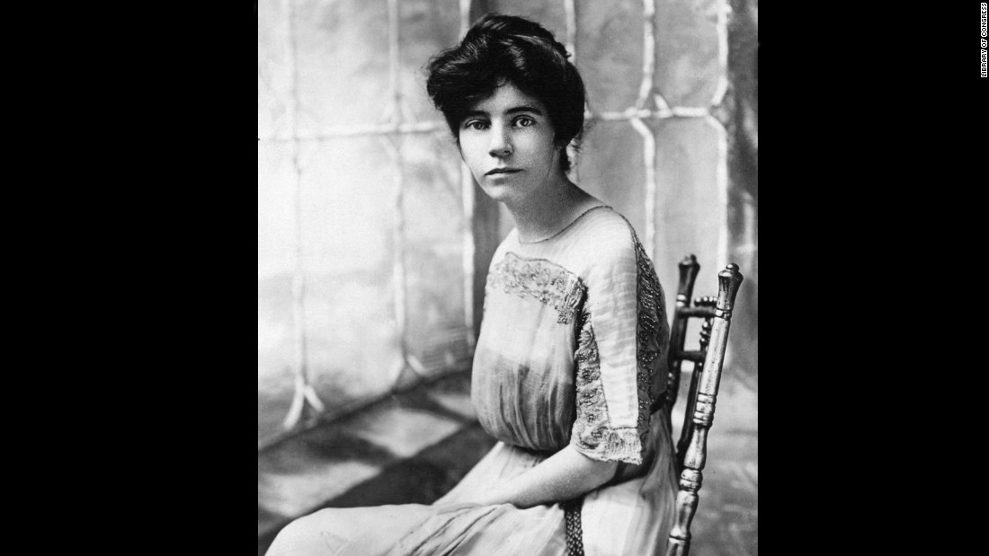 The march was organized by Alice Paul, who later started the National Woman's Party and the Silent Sentinels -- a group of women who would silently protest outside the White House.