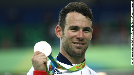 Cavendish won his the first Olympic medal of his career.