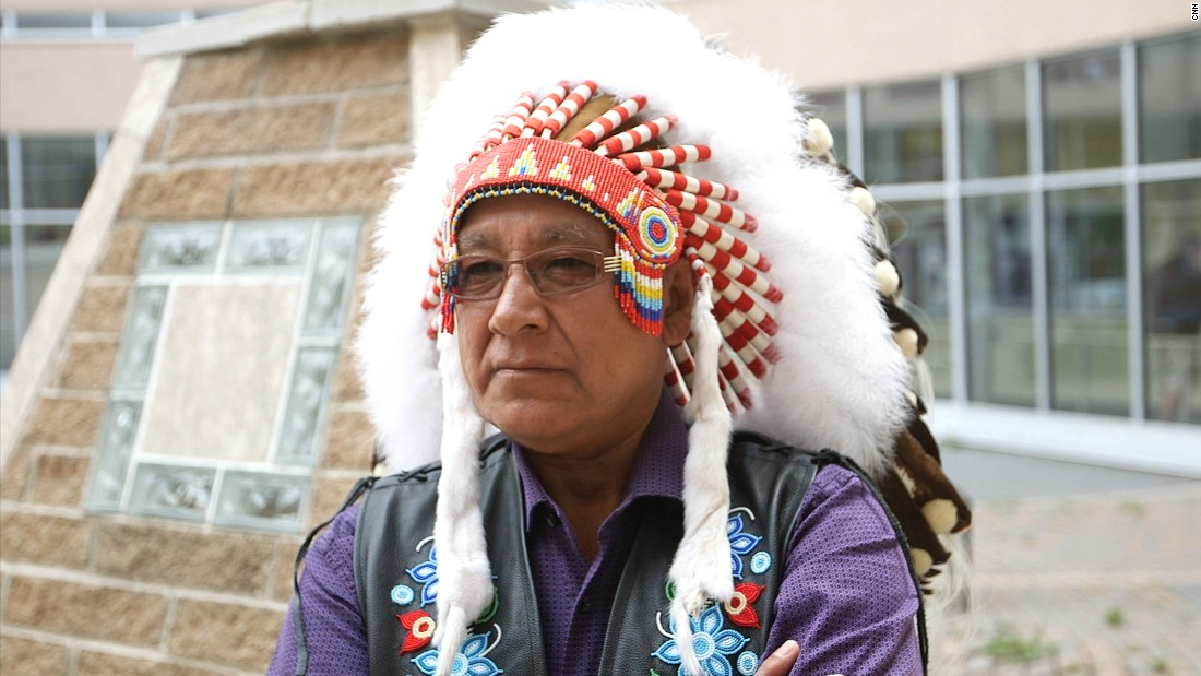 """What gives me hope is that we're talking about it,"" says Ron Evans, chief of Norway House Cree Nation. ""There's more people aware of it, we got leadership that are aware of it, we have plans in place that are only beginning to be implemented."""