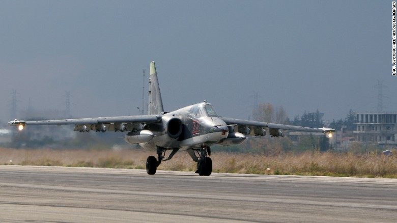 Russia used bases in Iran to launch Syria airstrikes.