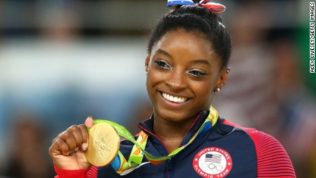 CNN catches up with Simone Biles
