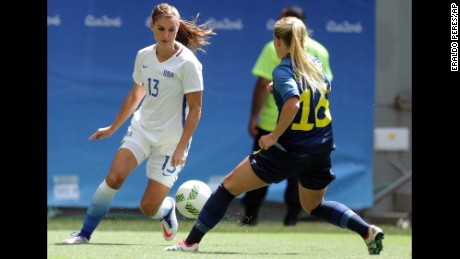 After Olympic loss, soccer star Alex Morgan on losing #LikeAGirl