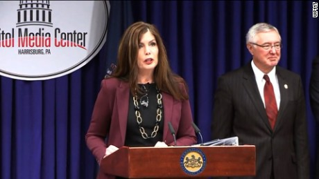 Pennsylvania Attorney General Kathleen G. Kane today announced that she will resign her position as Attorney General effective at the close of business tomorrow, Aug. 17.
