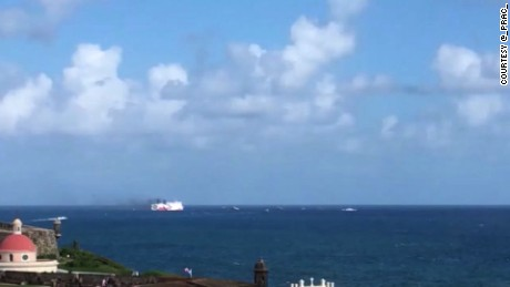 The US Coast Guard is responding to a ferry boat fire near San Juan, Puerto Rico.  According to Coast Guard spokesperson, Jonathan Lally, 512 people aboard the ferry are preparing to abandon ship after a fire in the engine room.  Lally says they have no reports of injuries at this time.  The fire is aboard the Caribbean Fantasy, a passenger and cargo ship that routinely runs between Puerto Rico and the Dominican Republic.