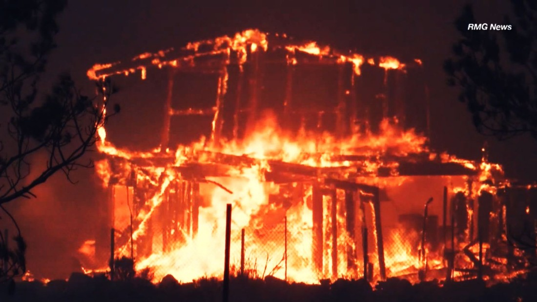 More than 80,000 warned to evacuate in raging California fire