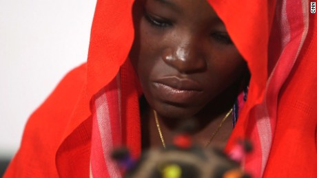 Chibok girl who escaped in May gives message of hope