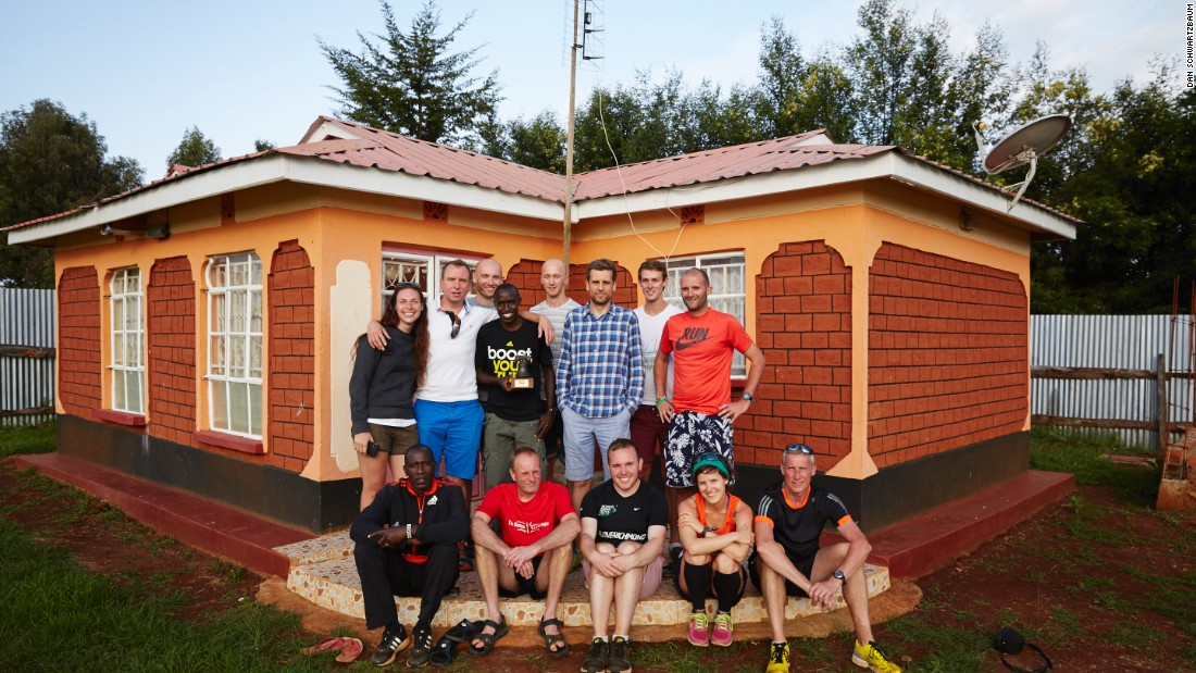 Sports enterprizes are proliferating in Iten, such as British runner Gavin Smith's 'The Kenya Experience,' which offers training camps for visitors from around the world.