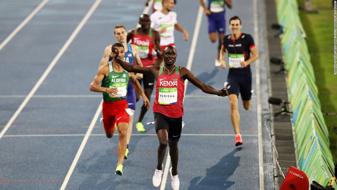 Double Olympic gold medal winner David Rudisha is among the track stars serving to promote Kenya as a sports tourism destination.