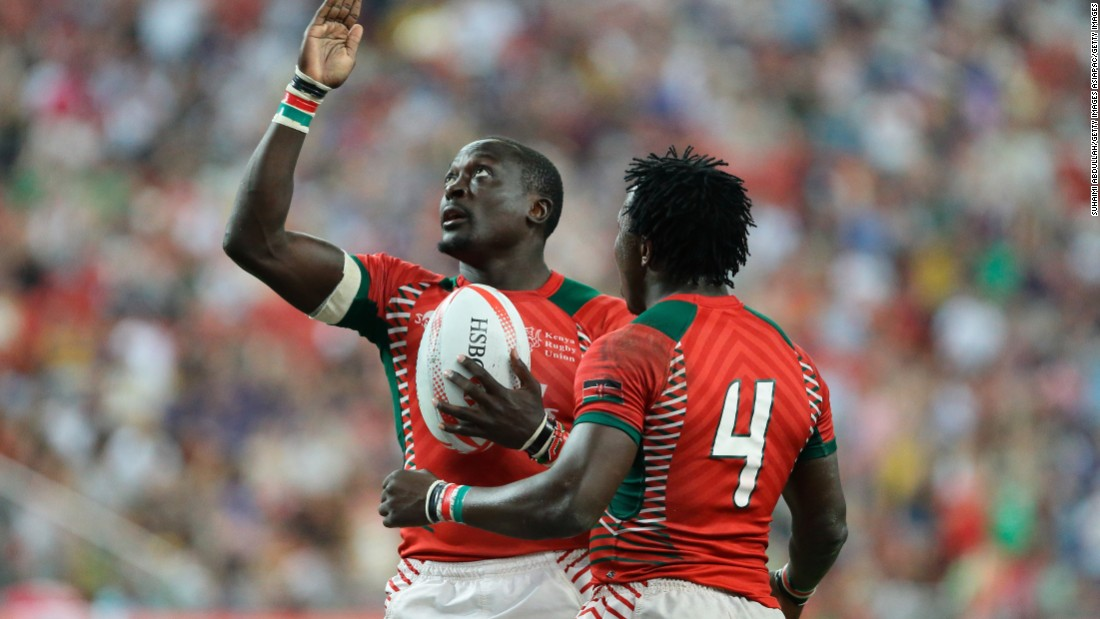 "Collins Injera (left) became <a href=""http://cnn.com/2016/05/21/sport/collins-injera-kenya-sevens-rugby/"" target=""_blank"">sevens' all-time leading try scorer</a> last season, while Kenya won its first series tournament, <a href=""http://cnn.com/2016/04/17/sport/singapore-sevens-2016-finals/"" target=""_blank"">beating Fiji in the Singapore final.</a> Former captain Innocent Simiyu took over as coach after a disappointing 11th placing out of 12 teams at the Olympics."