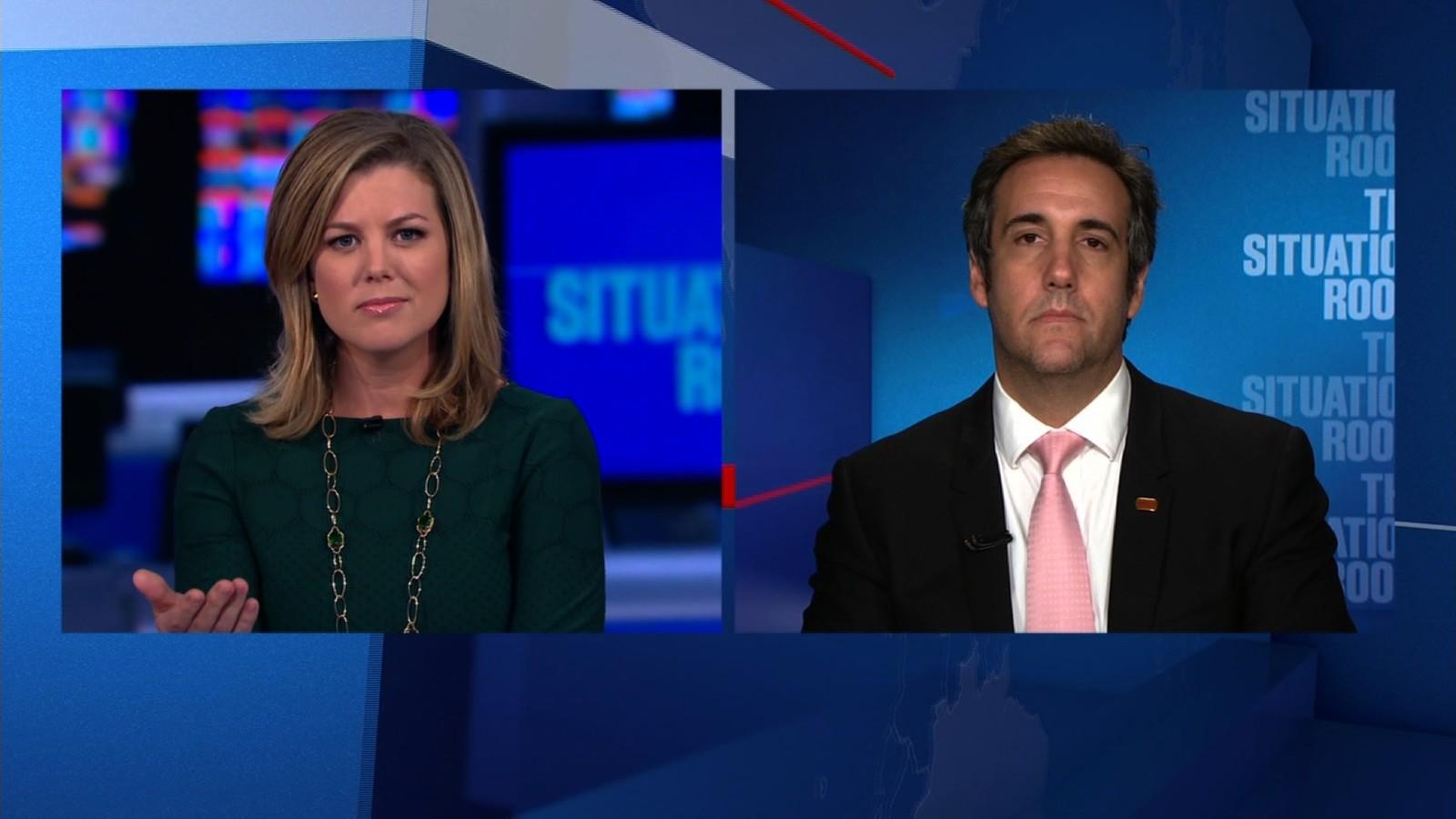 Marvelous Michael Cohen Denies Trump Campaign Shake Up   CNN Video