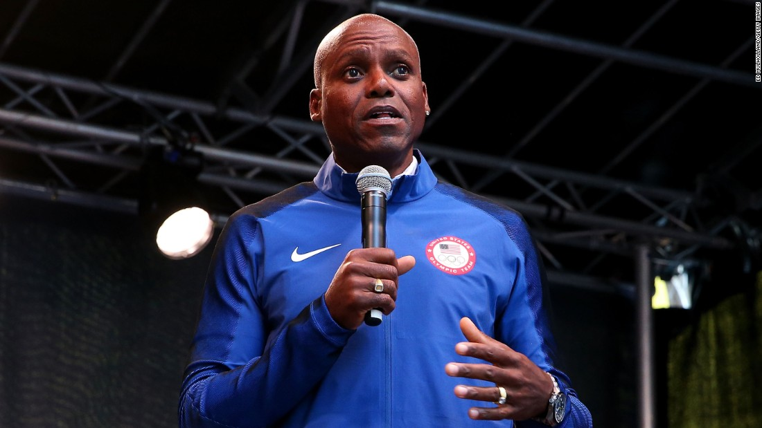 "Track and field star <a href=""http://edition.cnn.com/2008/SPORT/04/30/carllewis/"">Carl Lewis</a> collected nine golds from 1984 through 1996, two in the 100 meters and four in long jump. His run for New Jersey's state Senate was cut short when he <a href=""http://www.cnn.com/2011/POLITICS/04/26/carl.lewis.ineligible/"">failed to meet residency requirements in 2011</a>."