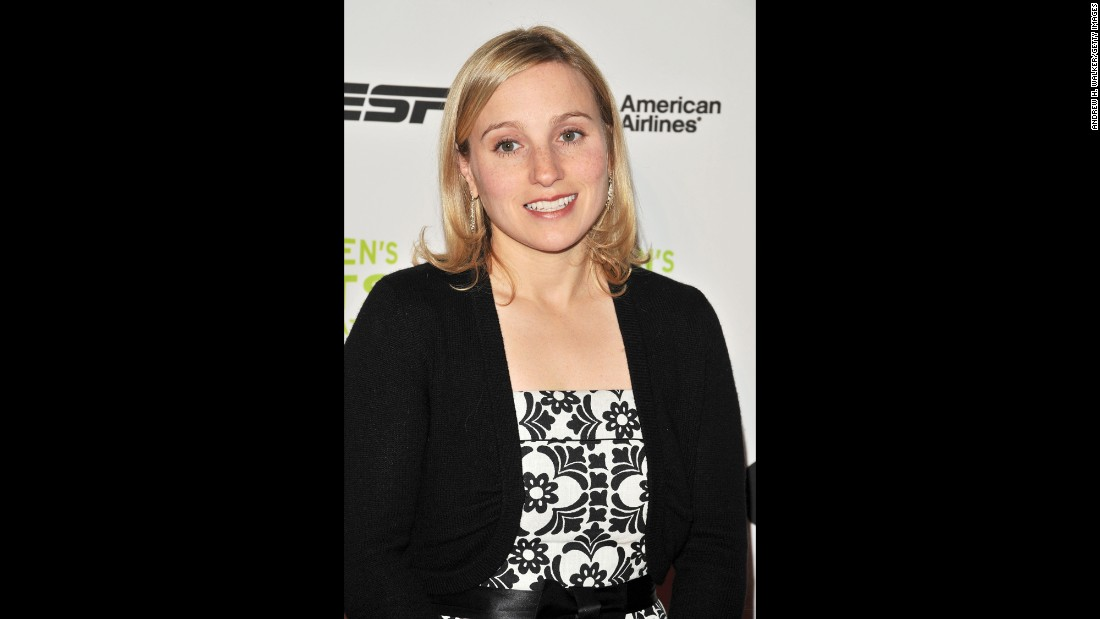 "Gymnast Kerri Strug's performance in Atlanta in 1996, in which she helped to win the gold for Team USA despite torn ankle ligaments, has become one of the most memorable moments in the history of the Olympic Games. After retiring from sports, she <a href=""http://www.huffingtonpost.com/entry/kerri-strug-gold-medal-moment_us_56042aeee4b08820d91bf2f0"" target=""_blank"">earned a master's in sociology and went to work for the federal government</a>, according to the Huffington Post."