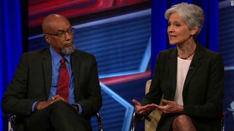 Why should Sanders' supporters vote for Jill Stein?