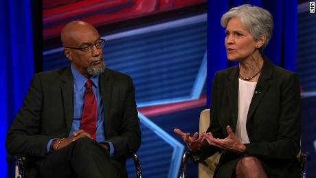 CNN's Green Party town hall in 90 seconds