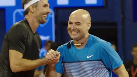 spc open court andre agassi croatia interview_00042503