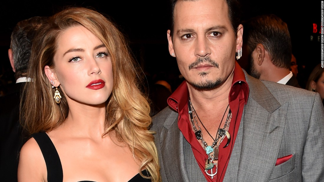 "#9. Amber Heard and Johnny Depp had been married just over one year when <a href=""http://www.cnn.com/2016/05/27/entertainment/amber-heard-johnny-depp-restraining-order/"">she filed a temporary restraining order against Depp</a>. She claimed he had been abusive."