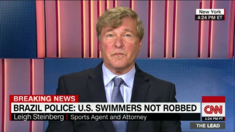 Super agent: If Lochte lied, he needs to apologize now