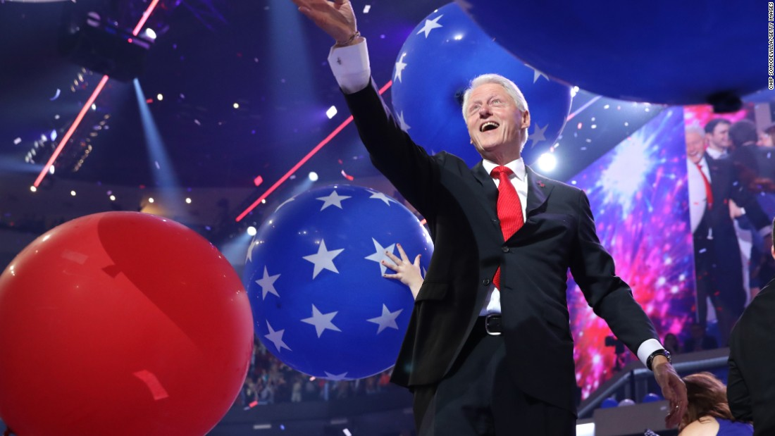 Bill Clinton's birthday present from granddaughter ...