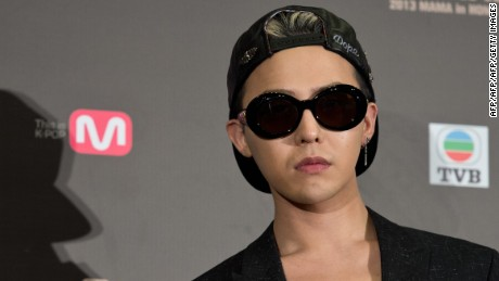 Big Bang's G-Dragon.