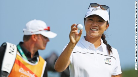 Olympic golf: Lydia Ko scores 'perfect' hole-in-one at Rio 2016