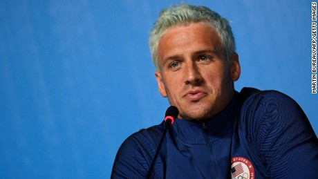 Ryan Lochte's words to the people of Rio
