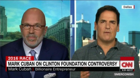 Mark Cuban on Clinton Foundation Controversy_00024108
