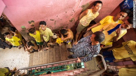 Life inside one of the Philippines' most crowded jails.