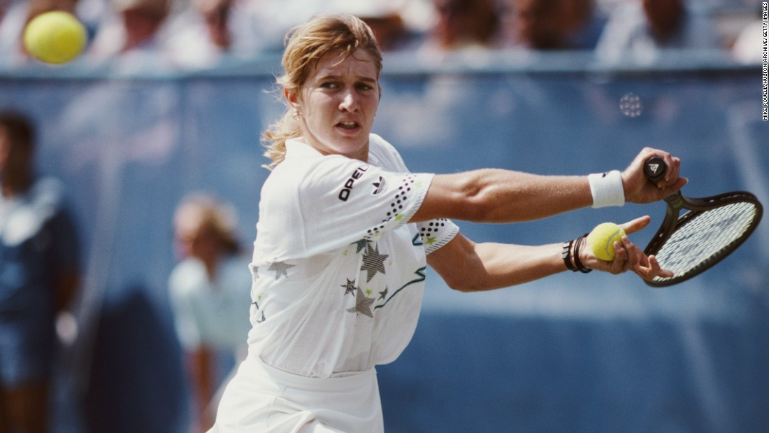 "While Graf's record could be beaten, she still remains the first and only tennis player to achieve the ""Golden Slam"" after winning all four grand slam titles and Olympic gold in the same calendar year in 1988."