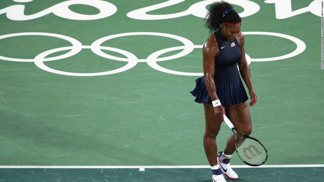 Williams, who has yet to achieve the calendar grand slam, won Olympic gold in the singles in 2012 but suffered a third-round defeat to Elina Svitolina at this year's Games in Rio de Janeiro.