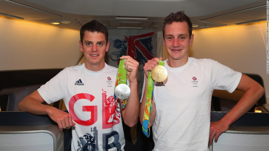 Two of those medals were won by a single family. The Brownlee brothers cemented their reputation as two of the finest triathlon runners the world has ever seen with a dominant one-two in Rio.