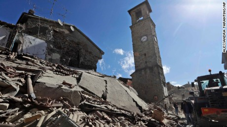 Italy's earthquake is sadly no surprise