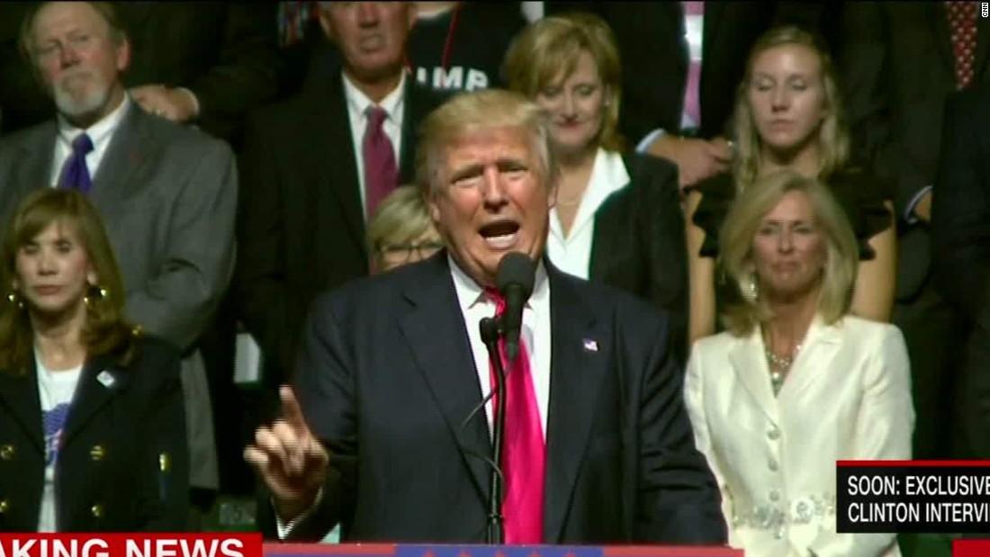 Clinton says Trump leading 'hate movement'; he calls her a 'bigot'