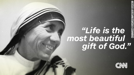 Mother Teresa: The 'Saint of the Gutters' in her own words