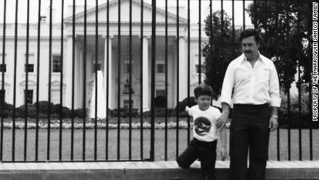 Escobar took Marroquin to the White House in 1981.