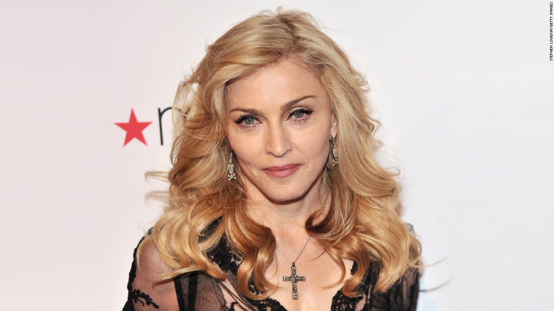 Madonna gives fans the shock of a lifetime