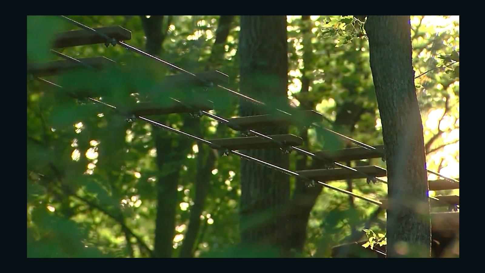 zip line fall leaves delaware woman dead cnn